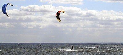 illustration de DERBY KITE SURF A LA BAULE