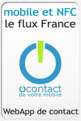 Le Flux O'contact NFC France...