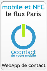 Le Flux O'contact NFC Paris...